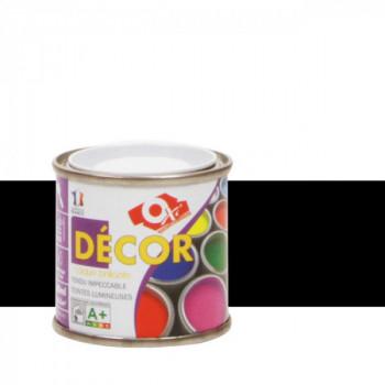 Peinture Oxitol laque décorative noir brillant 25 ML