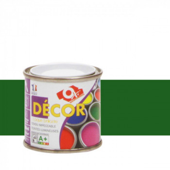 Peinture Oxitol laque décorative vert jardin brillant 25 ML