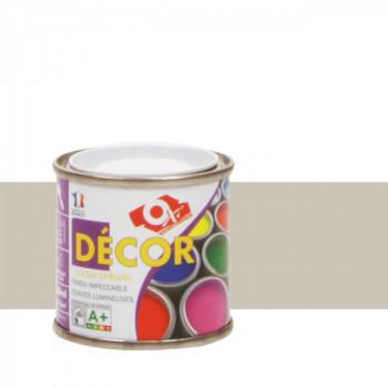 Peinture Oxitol laque décorative gris clair brillant 25 ML
