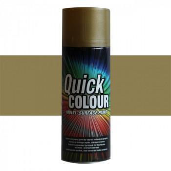 Peinture Quick Color aérosol multi-supports or satin 400 ML