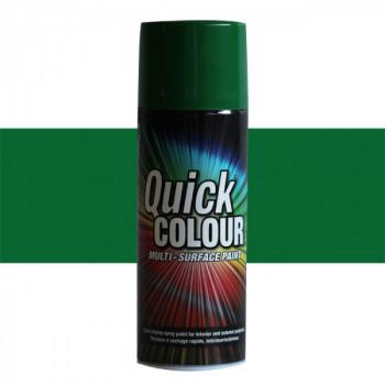 Peinture Quick Color aérosol multi-supports vert pré 400 ML