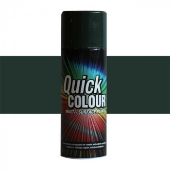 Peinture Quick Color aérosol multi-supports vert oxford 400 ML