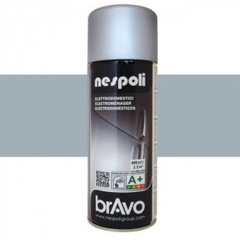 Peinture Bravo Spray aérosol électroménager gris 400 ML
