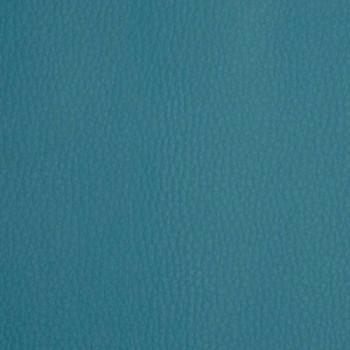 Tissu simili cuir bleu 140 cm