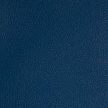 Tissu simili cuir bleu marine 140 cm