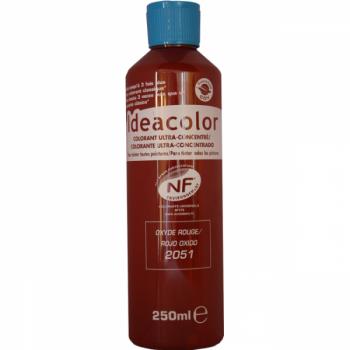Colorant Idéacolor ultra concentré rouge 250 ml