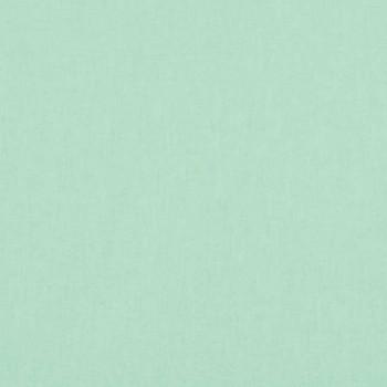 Tissu coton uni vert d'eau 150 cm