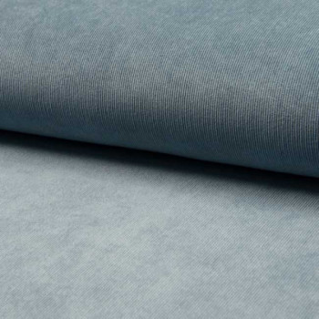 Tissu velours côtelé gris clair 145 cm