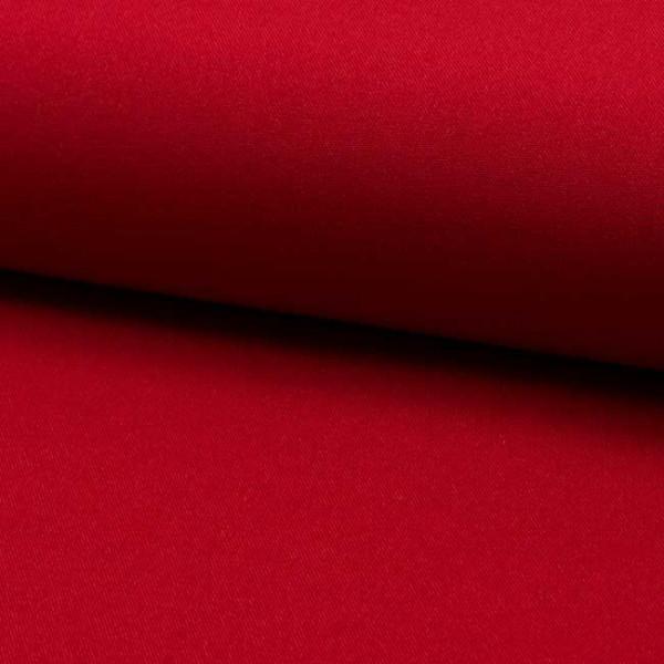 Tissu Burlington uni rouge 150 cm