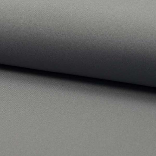 Tissu Burlington uni gris clair 150 cm