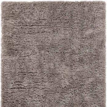 Tapis microfibre gris 160x230 cm