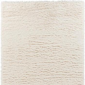 Tapis microfibre blanc 120x170 cm