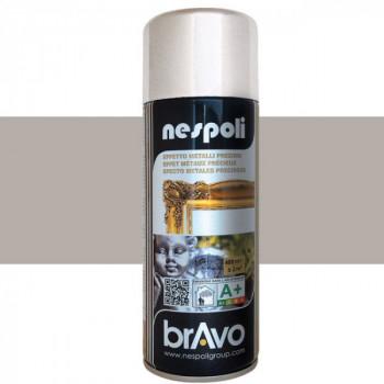 Peinture Bravo Spray aérosol multi-supports argent 400 ML