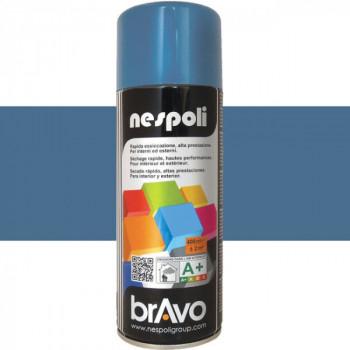 Peinture Bravo Spray aérosol multi-supports bleu marine 400 ML