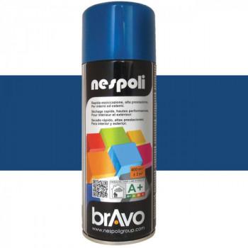 Peinture Bravo Spray aérosol multi-supports bleu saphir 400 ML