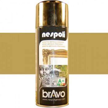 Peinture Bravo Spray aérosol multi-supports chrome or 400 ML