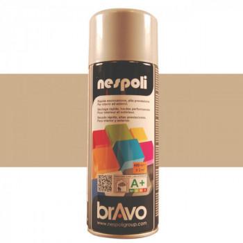 Peinture Bravo Spray aérosol multi-supports gris argenté 400 ML