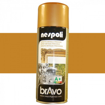 Peinture Bravo Spray aérosol multi-supports or antique 400 ML