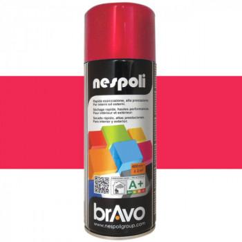 Peinture Bravo Spray aérosol multi-supports rouge feu 400 ML