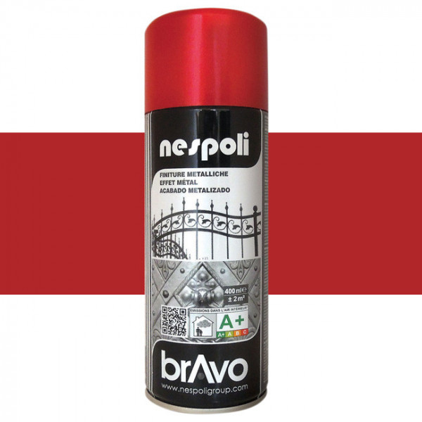Peinture Bravo Spray aérosol rouge...