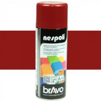 Peinture Bravo Spray aérosol multi-supports rouge rubis 400 ML