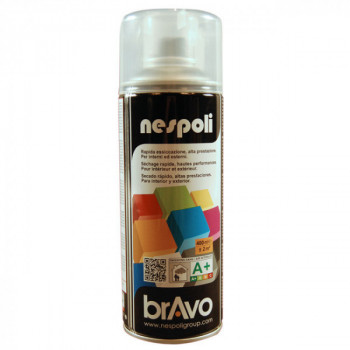 Peinture Bravo Spray aérosol vernis incolore satin 400 ML