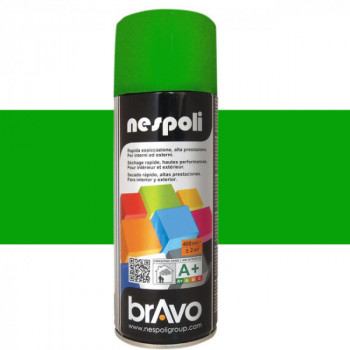 Peinture Bravo Spray aérosol multi-supports vert jardin 400 ML