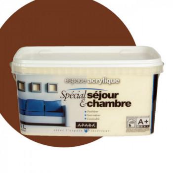 Peinture Apara Murs et plafonds intérieurs  chocolat satin    2,5L