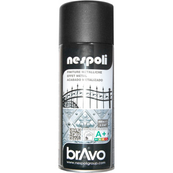 Peinture Bravo Spray aérosol ferronnerie gris graphite 400 ML