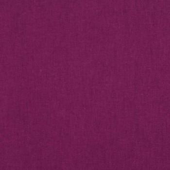 Tissu coton uni prune 150 cm