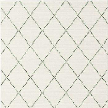 Tapis berbère vert et blanc 120 x 170 cm