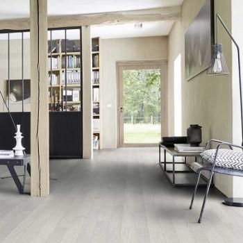 Sol PVC décor chêne blanchi