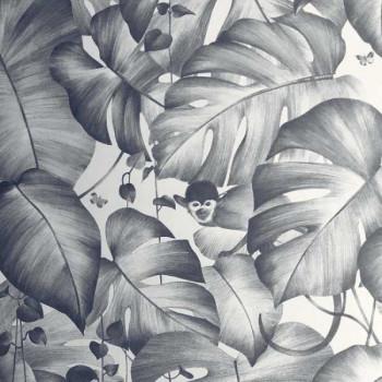 Papier peint intissé déco murale palme
