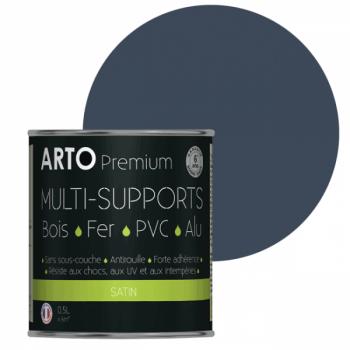 Peinture Arto Premium multi-supports bleu provence satin 0,5L
