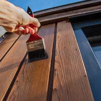 Peinture bois extérieur : volet, portail...