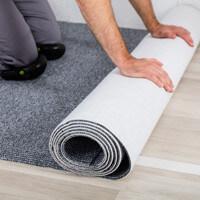 Pose de sol PVC ou moquette : sous-couche, colle, cutter...